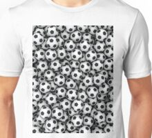 Soccer balls Unisex T-Shirt