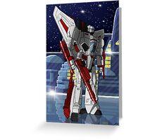 Jetfire Greeting Card