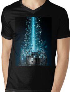 Disco explosion Mens V-Neck T-Shirt