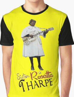 SISTER ROSETTA THARPE ROCK N ROLL Graphic T-Shirt