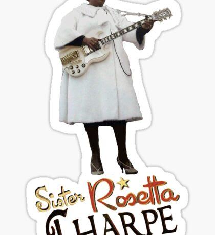 SISTER ROSETTA THARPE ROCK N ROLL Sticker