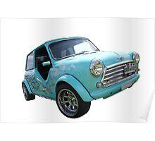 Blue Flame Mini Poster