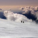 on the glacier by paolo amiotti