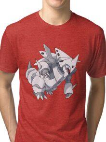 Mega Aggron Tri-blend T-Shirt