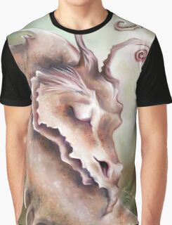 Sleeping Dragon - Peace and Tranquility Graphic T-Shirt