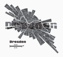 Dresden Map One Piece - Short Sleeve