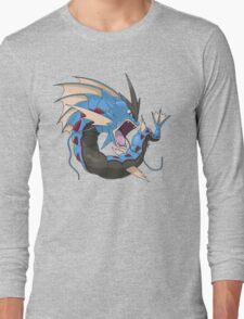 Mega Gyarados Long Sleeve T-Shirt