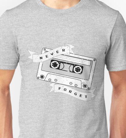Cassette - Never Forget Unisex T-Shirt