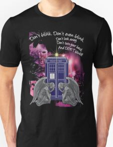Weeping For The Tardis Unisex T-Shirt