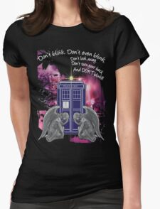 Weeping For The Tardis Womens Fitted T-Shirt