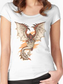 MONSTER HUNTER - Rathalos - Women's Fitted Scoop T-Shirt