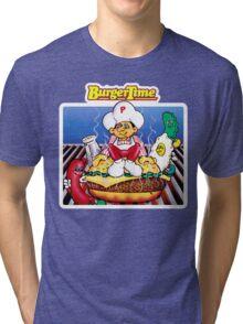 BurgerTime Graphic Tri-blend T-Shirt