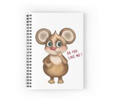 Do you like me? Spiral Notebook