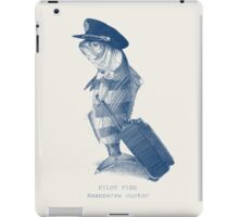 The Pilot (monochrome) iPad Case/Skin