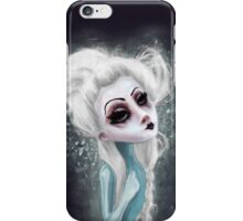 black cold surrounds me iPhone Case/Skin