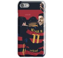 Messi, Suarez, Neymar (MSN) Design iPhone Case/Skin
