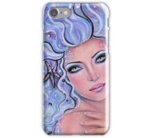 Mermaid Spell mermaid art by Renee Lavoie iPhone Case/Skin