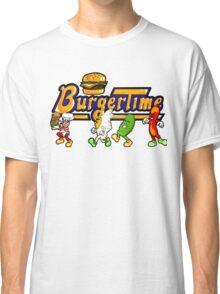 BurgerTime Title Graphic Classic T-Shirt