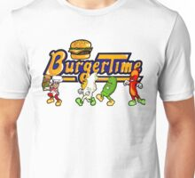 BurgerTime Title Graphic Unisex T-Shirt