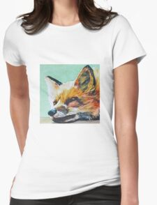 Watchful Fox Womens Fitted T-Shirt