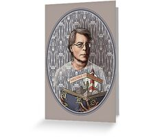 Stephen King Greeting Card