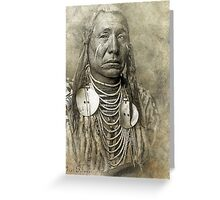 Indian Chief 2 Greeting Card