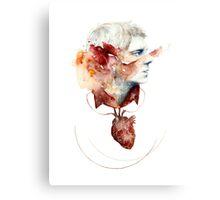 John - Heart Canvas Print