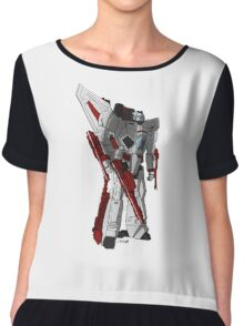 Jetfire W/O Background Chiffon Top