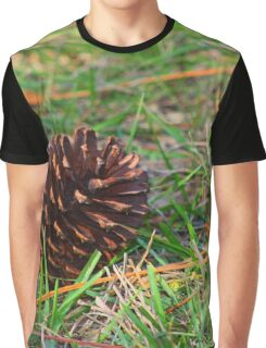Pine cone down Graphic T-Shirt