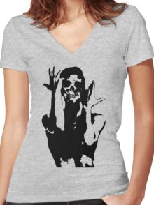 Prince Graphic T-Shirt Women's Fitted V-Neck T-Shirt