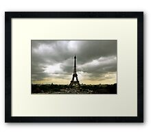 Paris Eiffel Tower Photograph by Billy Bernie Framed Print