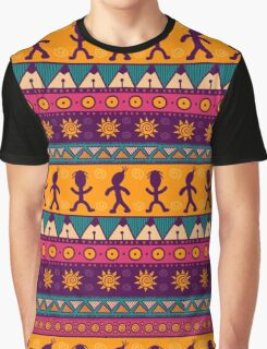 Ethnic tribal pattern Graphic T-Shirt