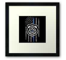 Support the Police Framed Print
