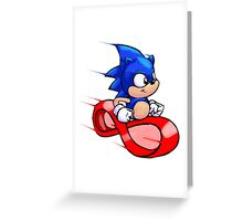 Going Fast Greeting Card
