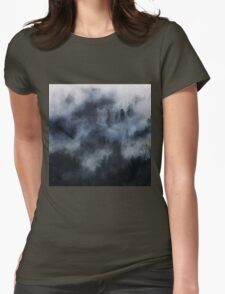 Darkness falls Womens Fitted T-Shirt