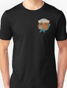 Flat Design Bulldog Sailor T-Shirt