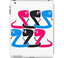 cool design 6 friends team crew party funny kid cute little sweet baby snake iPad Case/Skin