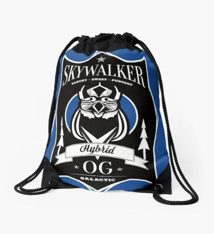 Skywalker Cannabis Strain Drawstring Bag