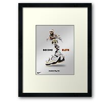 Elite Lebron Framed Print