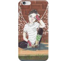 Sidewalk Angel iPhone Case/Skin