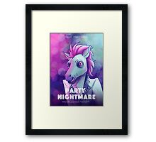 Party Nightmare Framed Print