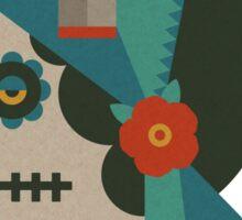 Flat Design - Dia de Los Muertos Sticker