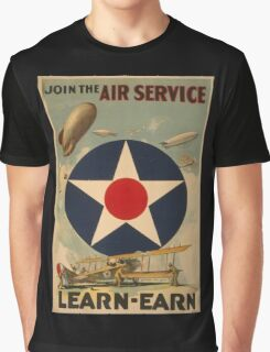 Air Service (Reproduction) Graphic T-Shirt