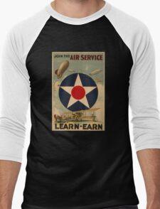 Air Service (Reproduction) Men's Baseball ¾ T-Shirt