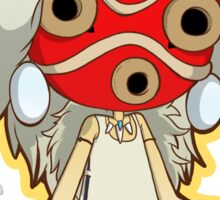 Princess Mononoke Masked Sticker