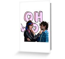 MGMT Sticker Greeting Card