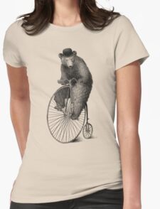 Morning Ride Womens Fitted T-Shirt