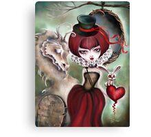 Dragon Lady - Graveyard Grenda & Dragon Canvas Print