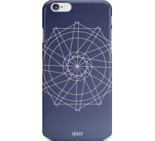 Geometric shape. Triangle and circles. Boho and hipster style. Cosmos iPhone Case/Skin