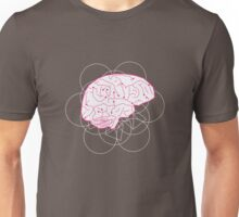 Human brain illustration. Cognitive science Unisex T-Shirt